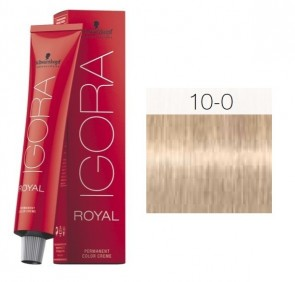 TINTE IGORA ROYAL 10-0 HIGHLIFTS ULTRA RUBIO 60ML SCHWARZKOPF