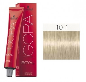 TINTE IGORA ROYAL 10-1 HIGHLIFTS ULTRA RUBIO 60ML SCHWARZKOPF