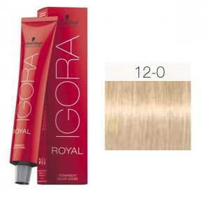TINTE IGORA ROYAL 12-0 HIGHLIFTS RUBIO ESPECIAL 60ML SCHWARZKOPF