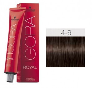 TINTEIGORA ROYAL 4-6 CASTAÑO MEDIO CHOCOLATE 60ML SCHWARZKOPF