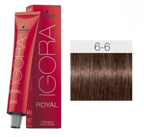 TINTE IGORA ROYAL 6-6 HIGHLIFTS RUBIO OSCURO CHOCOLATE 60ML SCHWARZKOPF