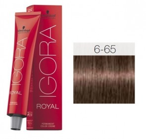TINTE IGORA ROYAL 6-65 HIGHLIFTS RUBIO OSCURO CHOCOLATE GOLD 60ML SCHWARZKOPF
