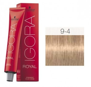 TINTE IGORA ROYAL 9-4 HIGHLIFTS RUBIO EXTRA CLARO BEIG 60ML SCHWARZKOPF