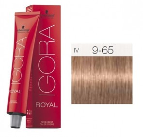 TINTE IGORA ROYAL 9-65 HIGHLIFTS RUBIO CLARO EXTRA CHOCOLATE GOLD 60ML SCHWARZKOPF