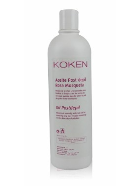 ACEITE POST DEPILATORIO 500 ML KOKEN
