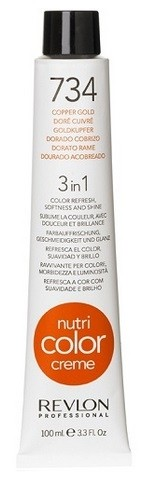 CREMA NUTRI COLOR N.734 DORADO COBRIZO 100 ML REVLON