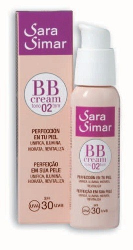 BB CREAM SPF30 TONO 02 SARA SIMAR 50 ml
