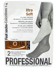 CALCETINES PARA PIES SECOS XTRA SOFT CON ARGÁN IROHA NATURE PROFESSIONAL