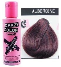CREMA COLORANTE– AUBERGINE  N. 50 100ML CRAZY COLOR