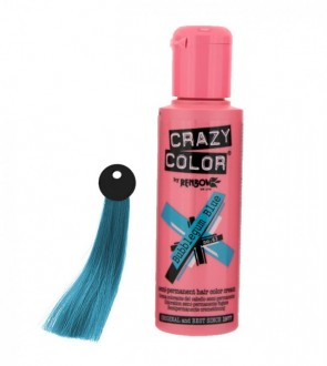 CREMA COLORANTE– BUBBLEGUM BLUE  N. 63 100ML CRAZY COLOR