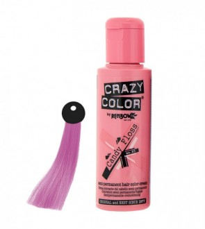 CREMA COLORANTE – CANDY  FLOSS N .65 100ML CRAZY COLOR