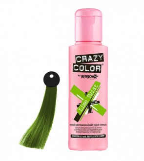 CREMA COLORANTE – LIME TWIST  N. 68 100ML CRAZY COLOR