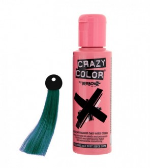 CREMA COLORANTE – PEACOCK BLUE  N. 45 100ML CRAZY COLOR
