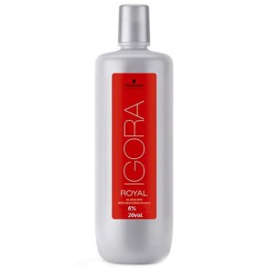 OXIGENADA 6% 20 VOL 1000ML IGORA ROYAL SCHWARZKOPF