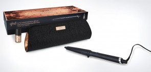 RIZADOR CURVE WAND PREMIUM COPPER LUXE GIFT SET GHD