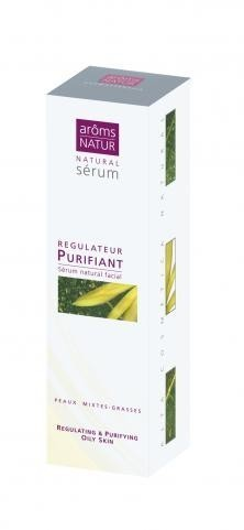 SERUM NATURAL REGULATEUR PURIFIANT 30ML AROMS NATUR