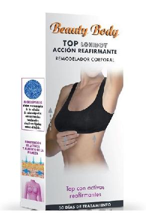 TOP DE ACCIÓN REAFIRMANTE REMODELADOR CORPORAL LOHIDOY